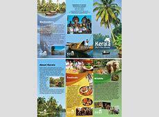 """Rishabh Mathur: My Brochure Design of """"KERALA TOURISM"""" Kerala Tourism Brochure"""