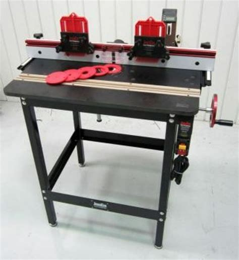 jessem mast  lift excel ii deluxe router table package