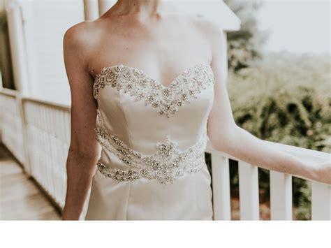 Wst 6341 Dress lillian west 6341 450 size 4 used wedding dresses