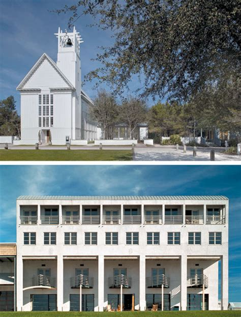 Chapel Floor Plans And Elevations Book Review Visions Of Seaside Features Planetizen