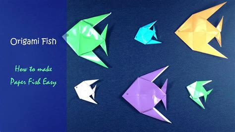 Origami Fish Step By Step - origami lovable origami fish origami fish
