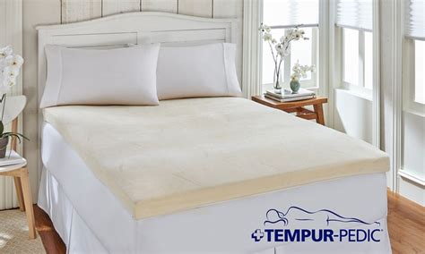 tempur pedic bed topper closeout tempur pedic memory foam mattress topper groupon