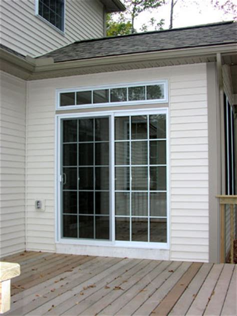 Patio Doors With Transom 3g S Doors And More Door Installation And Repair