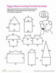3rd Grade Perimeter Worksheets by Find The Perimeter Worksheet Education