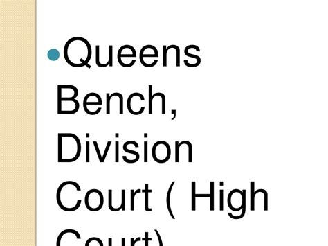 queen s bench division high court of justice queens bench division 28 images