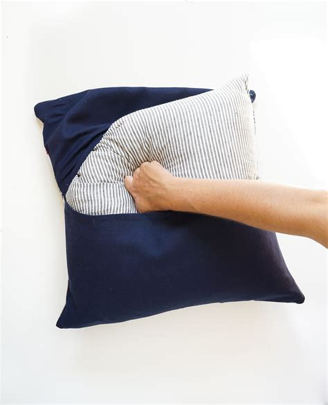the easiest diy pillows no sew envelope pillows made