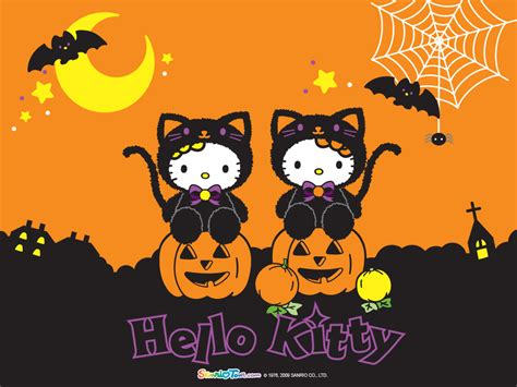 Imagenes Kitty Halloween | hello kitty halloween wallpaper hello kitty wallpaper