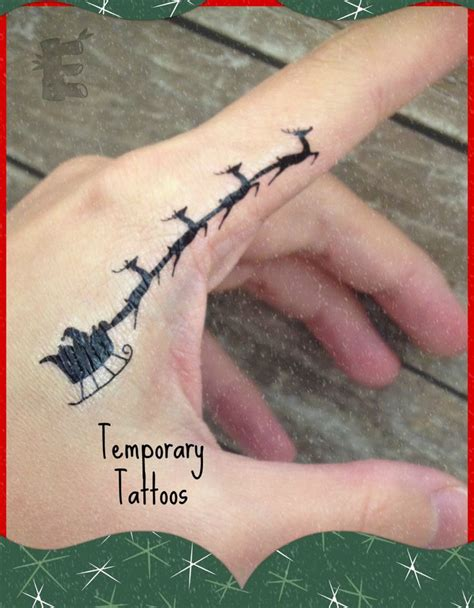 christmas tattoo 25 best ideas about on
