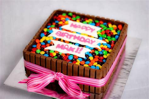 Diy Cake Happy Birthday Cake diy birthday cakes using kit kats chocolate bars cakes