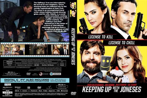 dvd slipcover keeping up with the joneses dvd cover label 2016 r0 custom