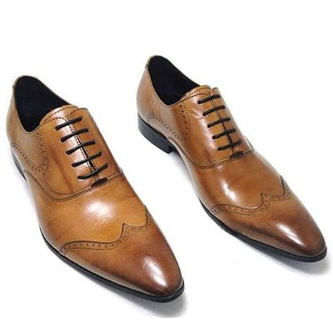 mens dress oxford shoes buy fulinken genuine leather oxford shoes lace up slip