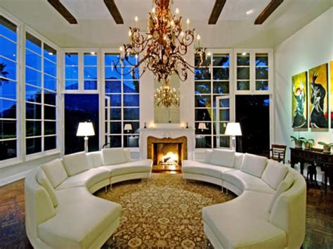 mansion living room estate of the day 7 7 million luxurious mansion in los