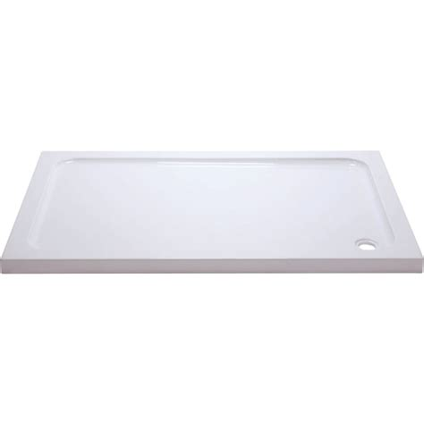 Low Profile Shower Base by Suregraft Low Profile Shower Trays Inc Waste 1200x900mm