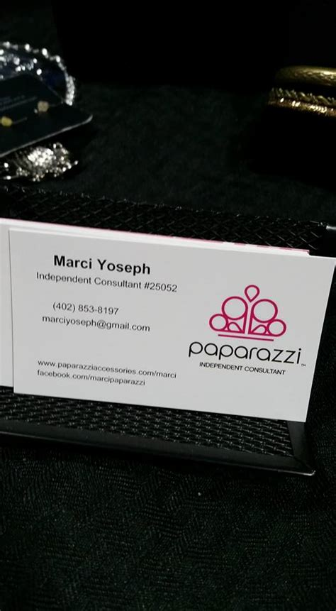 10 Things To Do While Waiting For Your Paparazzi Starter Kit Marci Yoseph Paparazzi Business Card Template