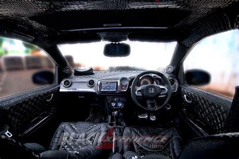 modifikasi bumper depan brio modifikasi honda brio s kecintaannya dengan kendaraan
