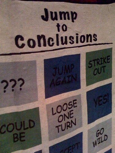 Jump To Conclusions Mat by Quot Jump To Conclusions Quot Mat Flickr Photo