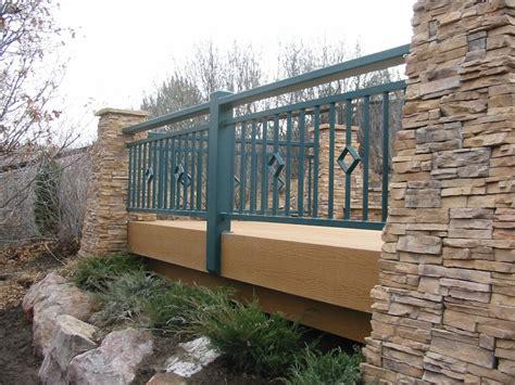 Design For Metal Deck Railings Ideas Luxury Metal Deck Railing Ideas Doherty House Strong Metal Deck Railing Ideas For Modern