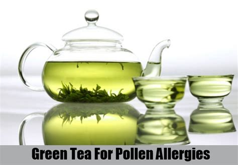 Green Tea Helps In The Fight Against Disease by 6 Effective Home Remedies For Pollen Allergies