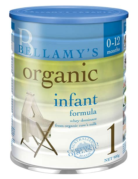 Bellamys Organic Follow On Formula 6 Month Made In Australia bellamy s organic infant formula step 1 900g formula warehouse