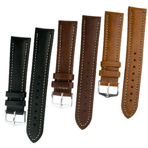 leather straps leather and buckle ebay
