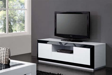 meubles tv soldes meuble tv meuble tv design blanc et noir comforium