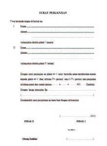 contoh surat perjanjian untuk komisi penjualan anekacontoh