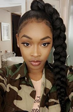 what kinda hair do i use for faux locks 20 ponytail hairstyles for black women eve steps