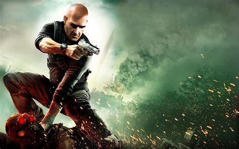 game gun wallpaper hitman splinter cell conviction agent 47 agent 47 hitman