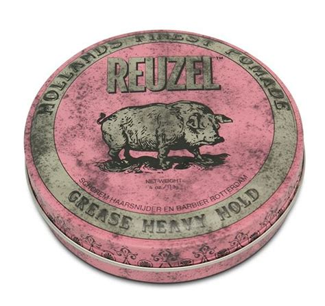 Pomade Murray Heavy reuzel pomade pink heavy hold haarproductshop