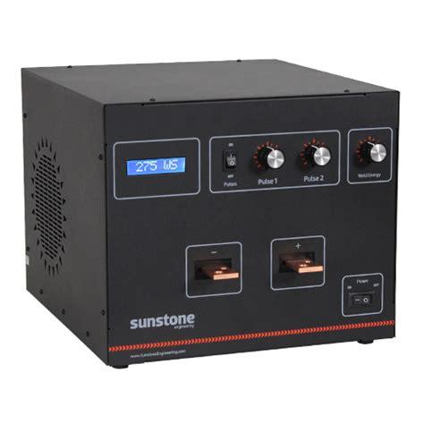 dual pulse capacitive discharge welder cd600dp capacitive discharge spot welder sunstone welders