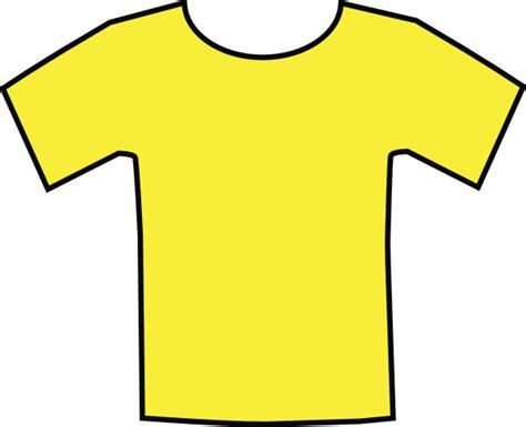 t shirt clipart yellow t shirt clip at clker vector clip