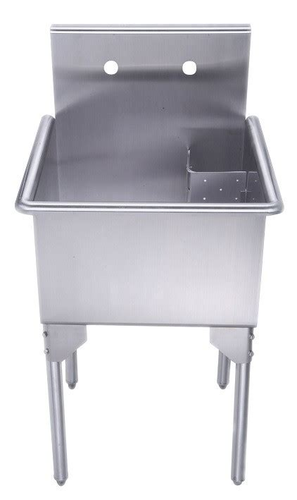 20 Inch Stainless Steel Sink Whitehaus Whls2020 Np 20 Inch Brushed Stainless Steel