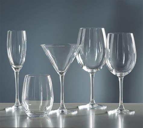 Glass Sets Calistoga Wine Glass Set Of 6 Pottery Barn