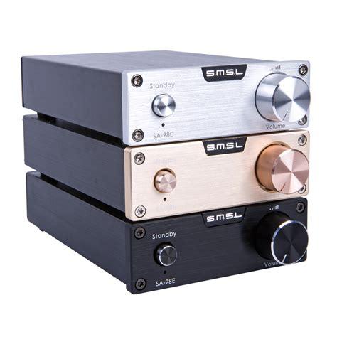 Tda7498e Digital Stereo Audio Lifier 2 X 160w Or 1 X 220w Module new upgraded smsl sa 98e tda7498e 160w 2 mini stereo hifi