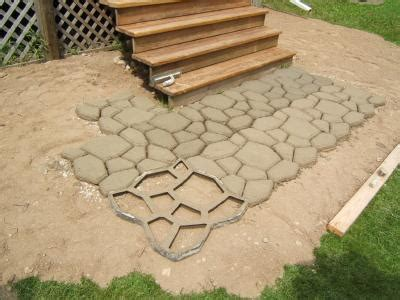 Patio Molds Concrete Pavers Paving Concrete Mold Mould Molds Stones Garden Patio Driveway Pathmate Pavement