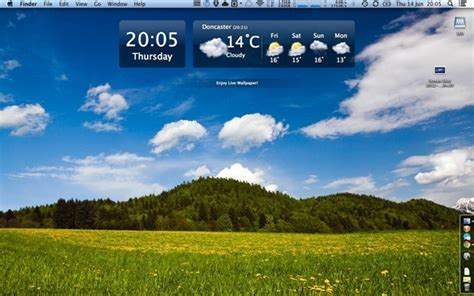 Beautiful Live Weather Live Wallpaper
