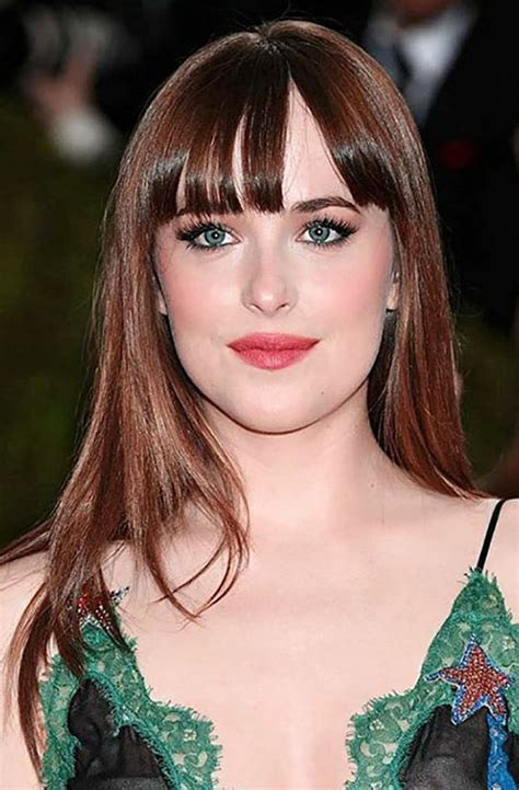 hairstyles for straight hair with bangs feathered or wispy bangs 30 super chic medium hairstyles