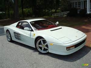 Testarossa White 1991 Bianco White Testarossa 24436556 Photo 60