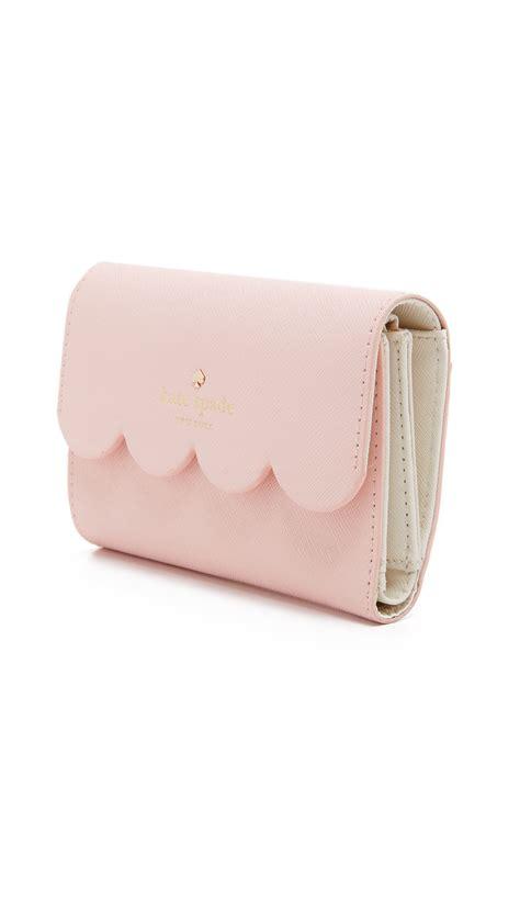 Kate Spade Kieran Wallet Lyst Kate Spade New York Kieran Wallet In Pink