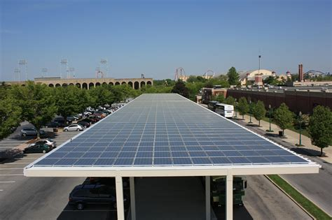 solar awnings solar canopies bring solar panels to your parking lot