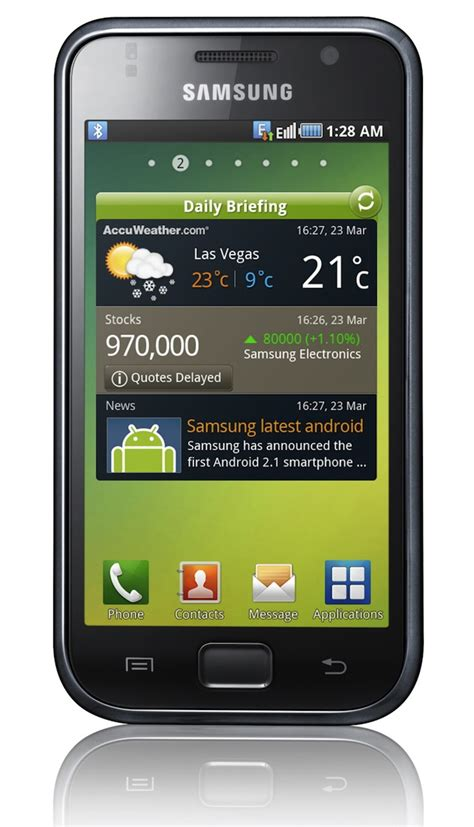 android galaxy samsung galaxy s launched in india for rs 31 000