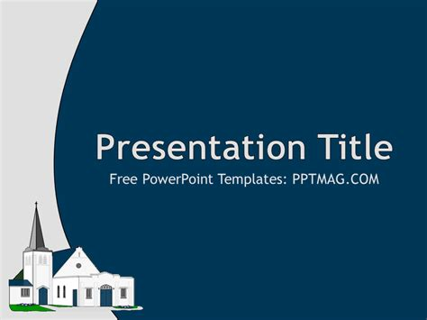Free Church Powerpoint Template Pptmag Free Church Powerpoint Templates