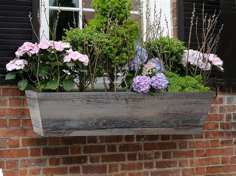 window planters fiberglass window boxes flower boxes lightweight durable