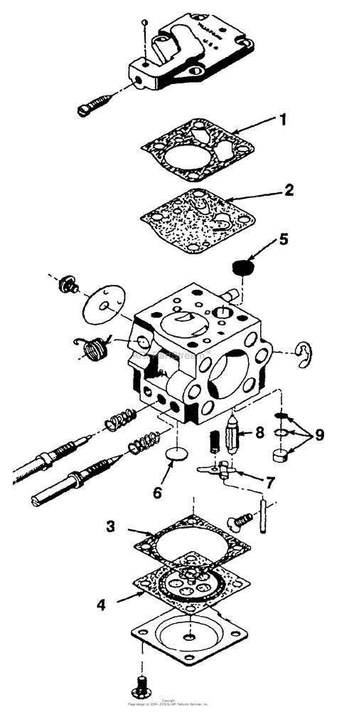 homelite chainsaw parts diagram homelite 340 chain saw ut 10660 a parts diagram for carburetor