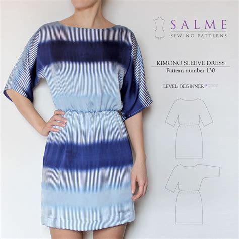 pattern of kimono sleeve digital sewing pattern kimono sleeve dress sewing