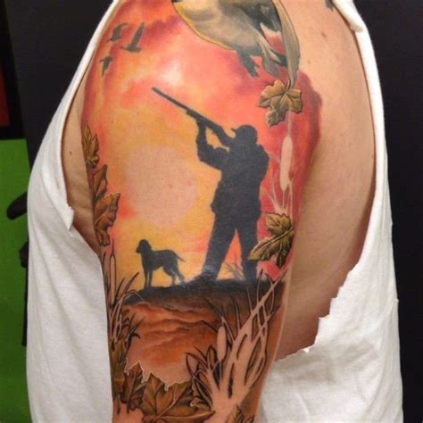 camo bow tattoo 32 best images about hunting sleeve ideas on pinterest