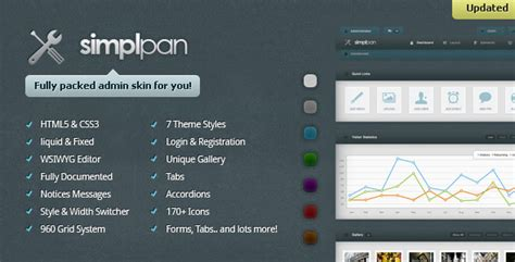 themeforest templates for asp net simplpan admin panel template by kaasper themeforest