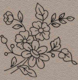 imagenes de flores para bordar a mano dibujos de flores para bordar a mano