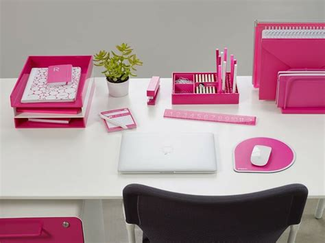 Pink Desk Accessories 17 Best Images About Desktop On Turquoise Office Gold Desk Accessories And Desk