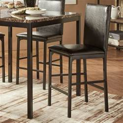Upholstered Counter Height Bar Stools Homelegance Tempe Casual Upholstered Counter Height Stool